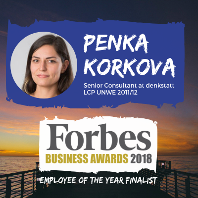 Pepi nominated for Employee of the year Forbes