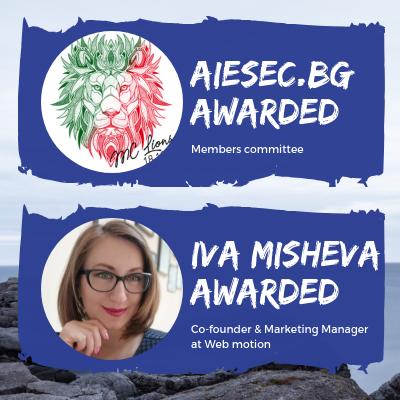 Iva Misheva Awarded