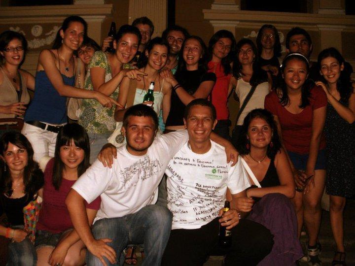 Interns from all over - Brazil, Italy, Poland, Malaysia, Romania etc.